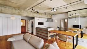 こだわりの素材感と造形で創り出すカフェスタイルのおうち